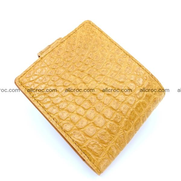Handcrafted crocodile skin wallet 1175