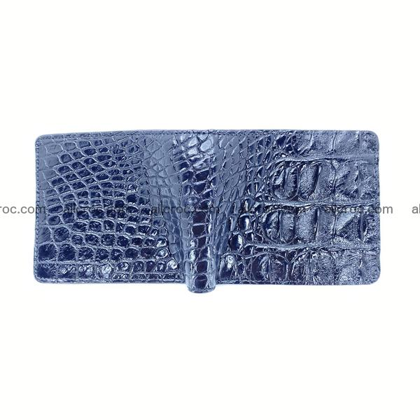 Handcrafted crocodile skin wallet 1199
