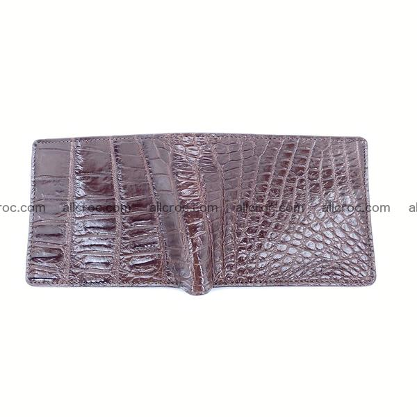 Handcrafted crocodile skin wallet 1200