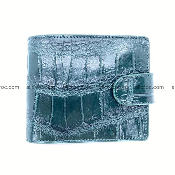 Handcrafted crocodile skin wallet 1182