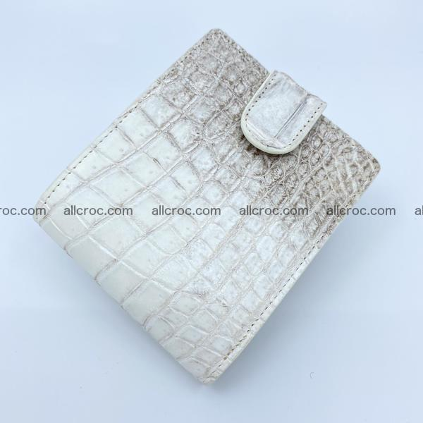 Handcrafted crocodile skin wallet 1181