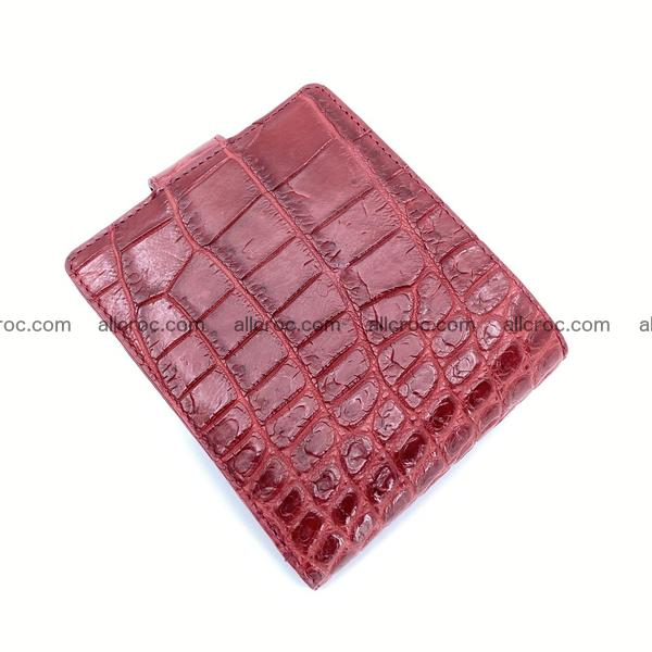 Handcrafted crocodile skin wallet 1196