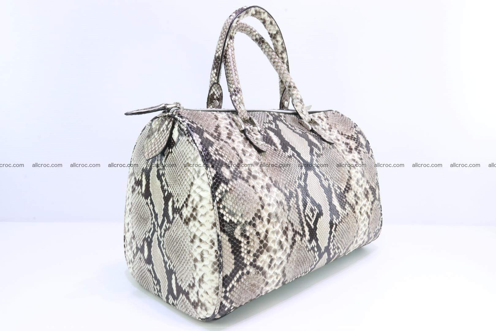 Ladies handbag, valise from genuine python skin 207 Foto 1