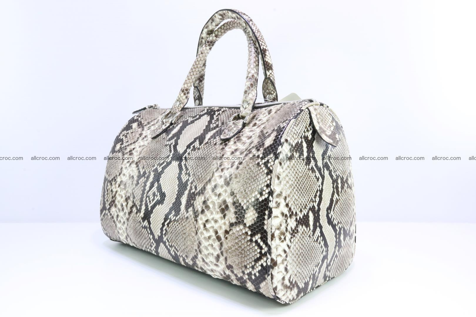 Ladies handbag, valise from genuine python skin 207 Foto 2