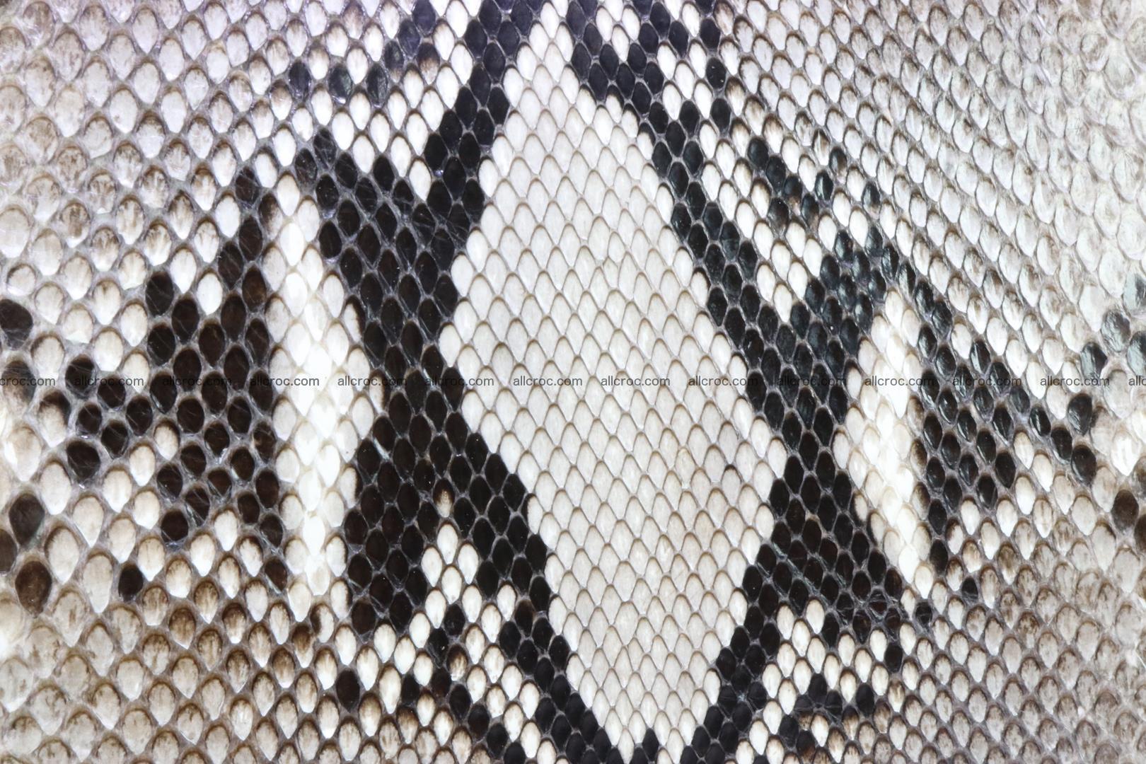Ladies handbag, valise from genuine python skin 207 Foto 7