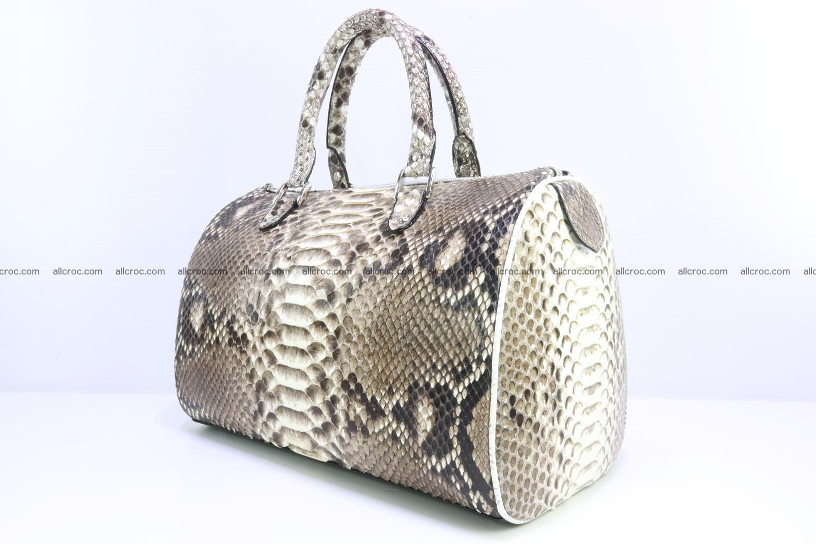 Ladies handbag, valise from genuine python skin 208 Foto 2