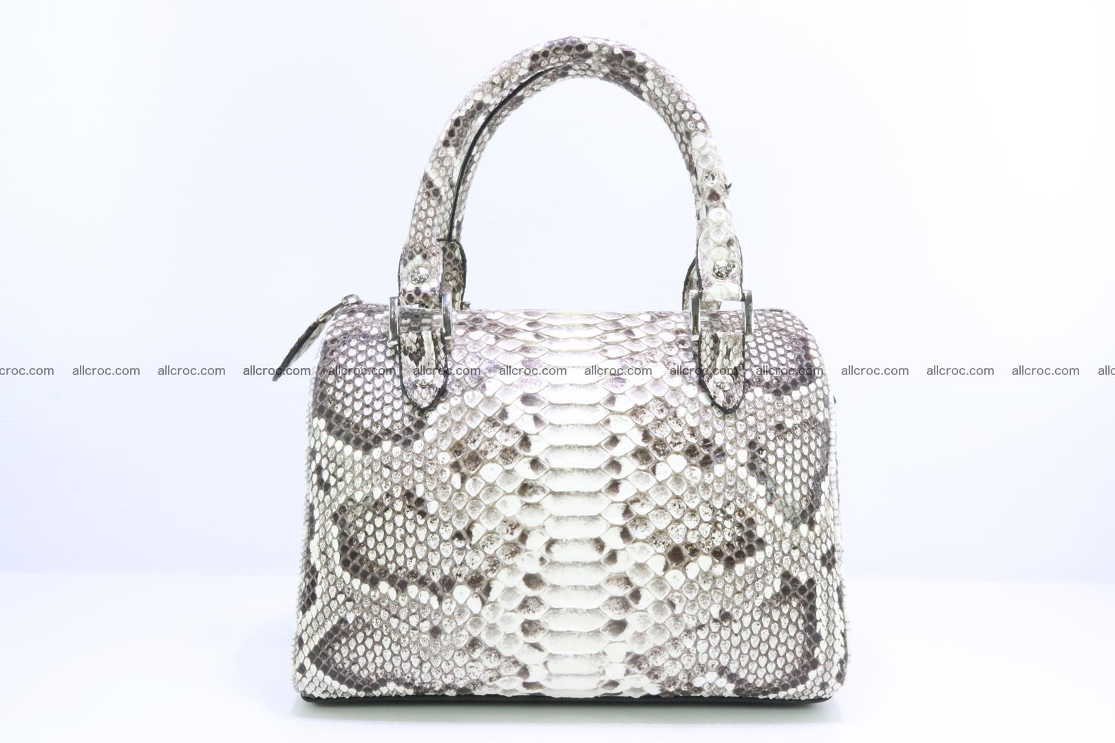 Ladies handbag, valise from genuine python skin MINI 209 Foto 0