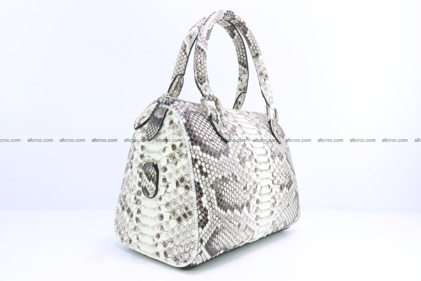 Ladies handbag, valise from genuine python skin MINI 209 Foto 1