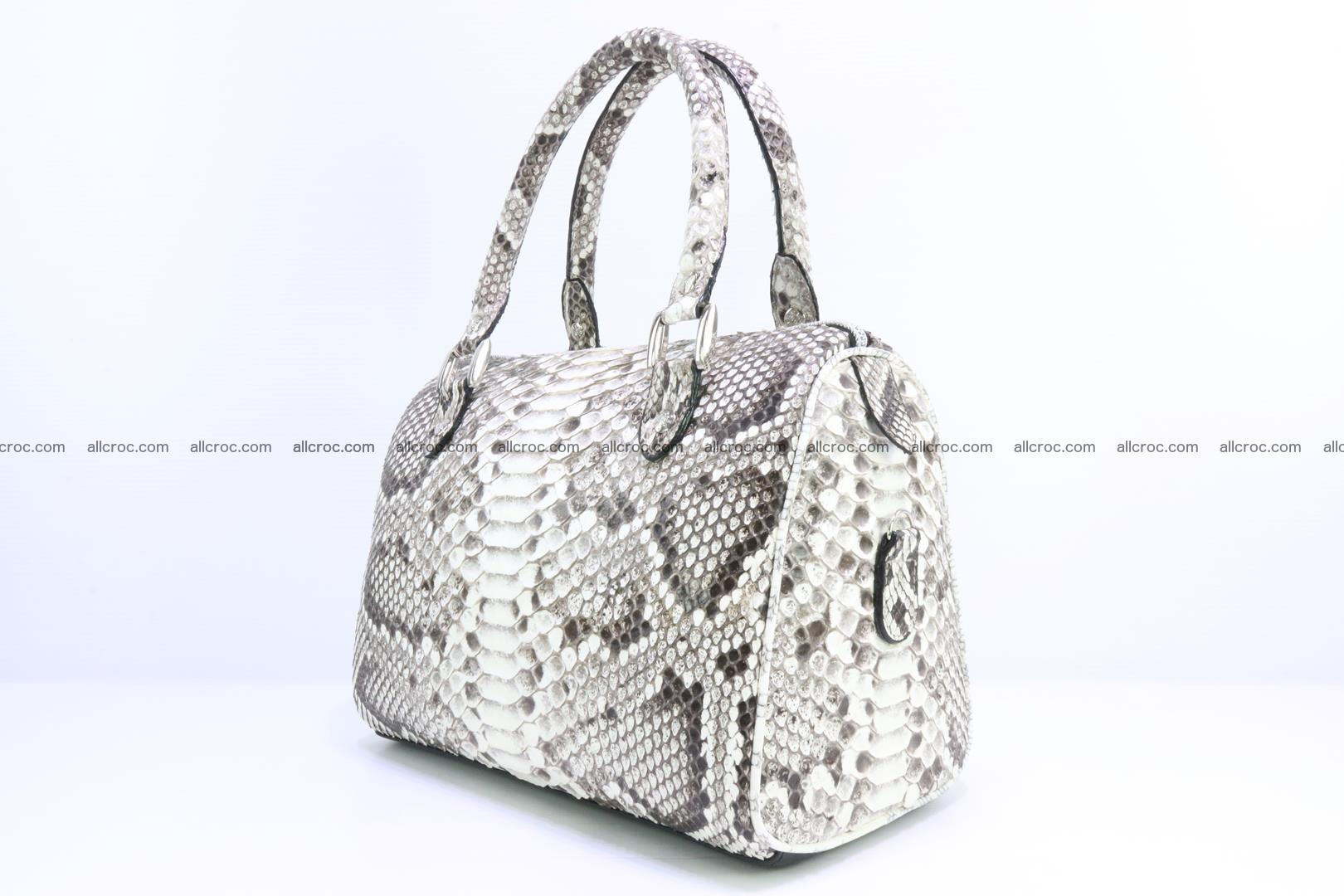 Ladies handbag, valise from genuine python skin MINI 209 Foto 2