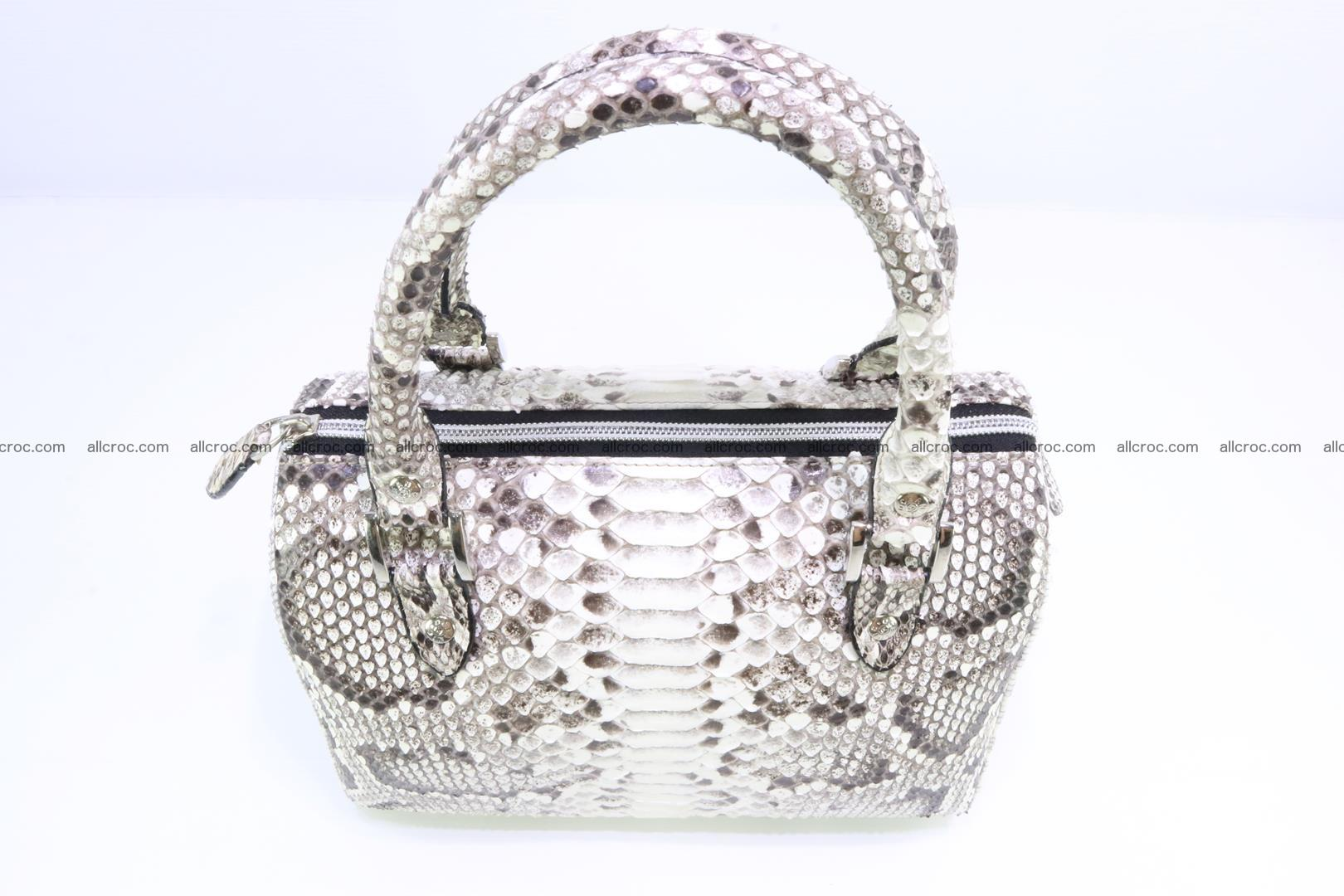Ladies handbag, valise from genuine python skin MINI 209 Foto 4