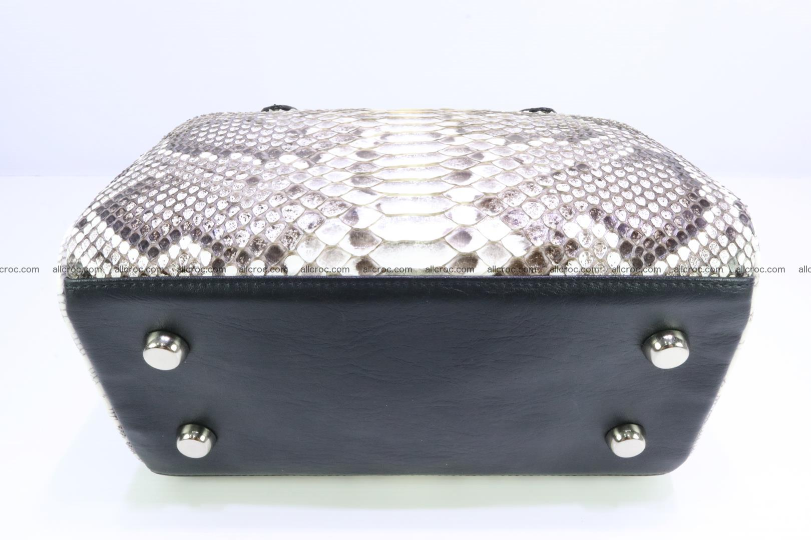 Ladies handbag, valise from genuine python skin MINI 209 Foto 7