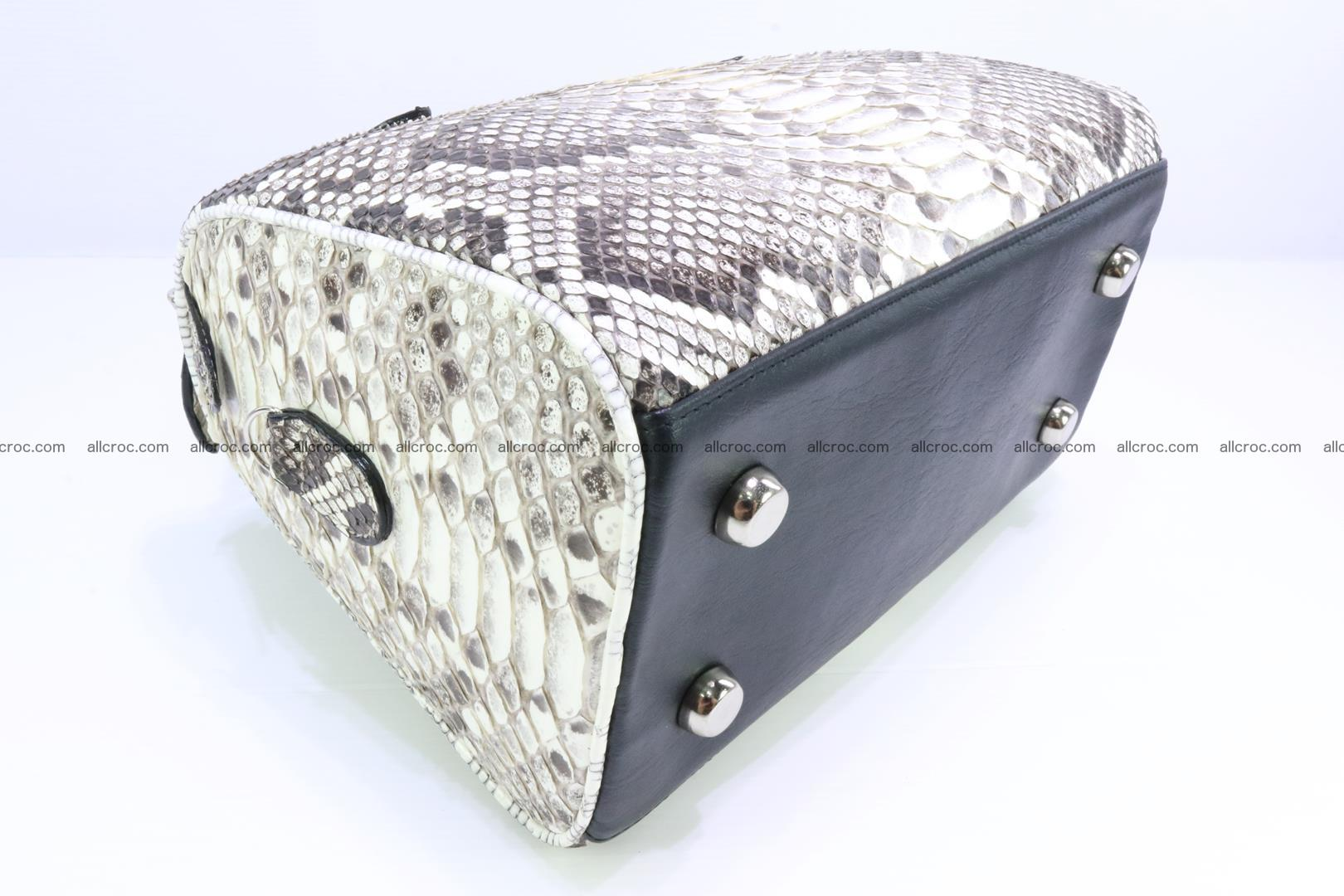 Ladies handbag, valise from genuine python skin MINI 209 Foto 8