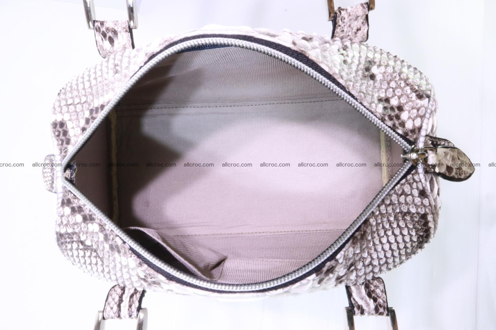 Ladies handbag, valise from genuine python skin MINI 210 Foto 11