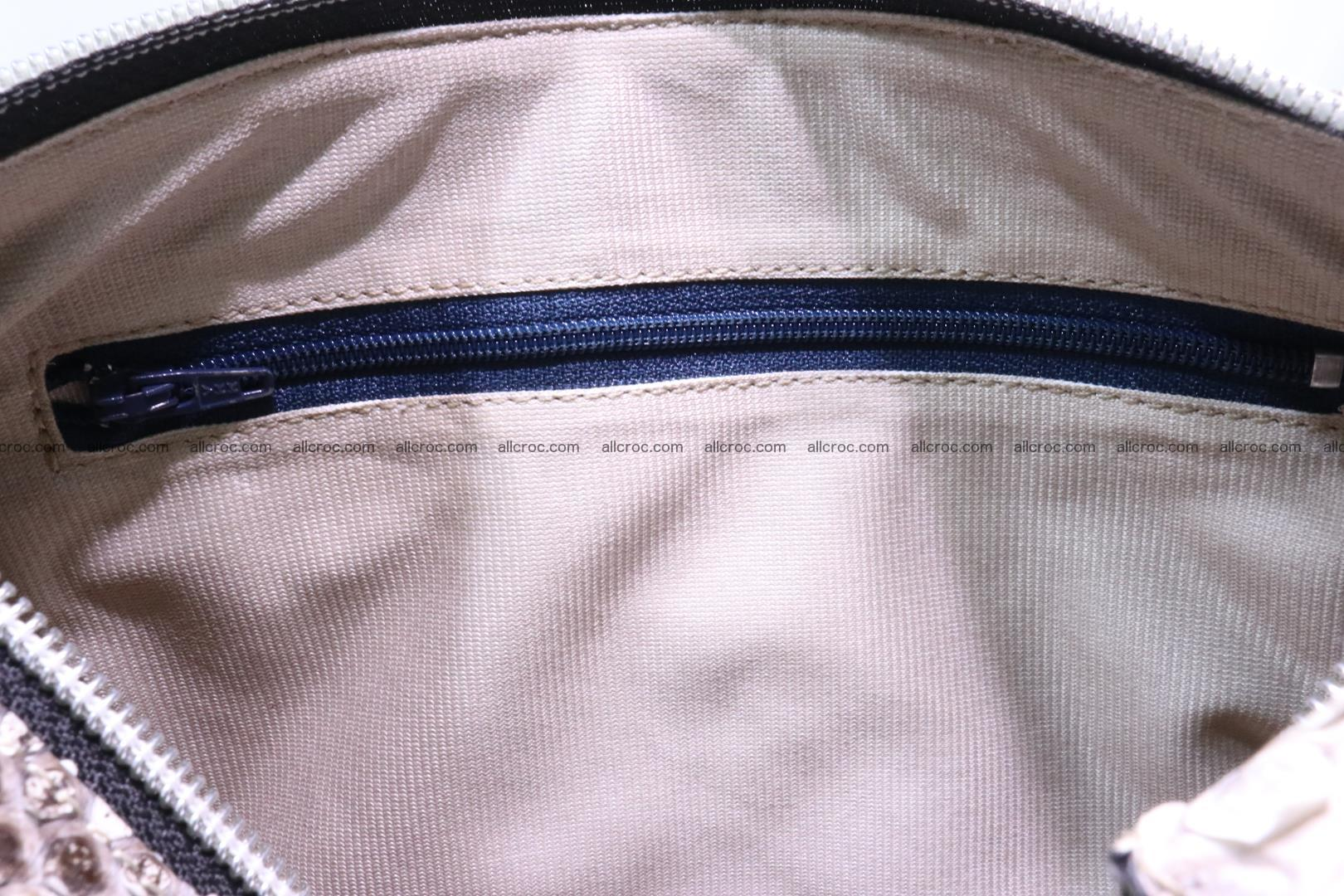 Ladies handbag, valise from genuine python skin MINI 210 Foto 12