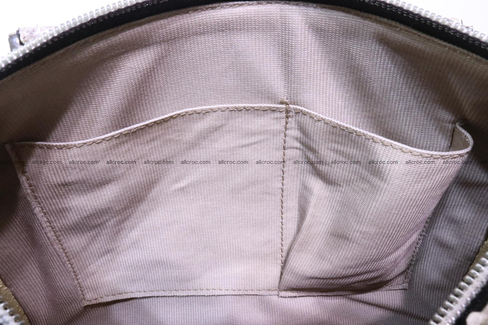 Ladies handbag, valise from genuine python skin MINI 210 Foto 13