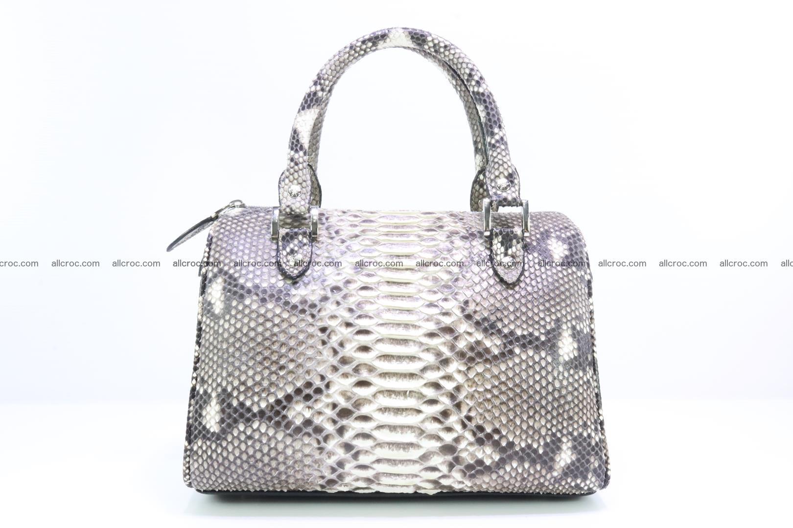 Ladies handbag, valise from genuine python skin MINI 210 Foto 0