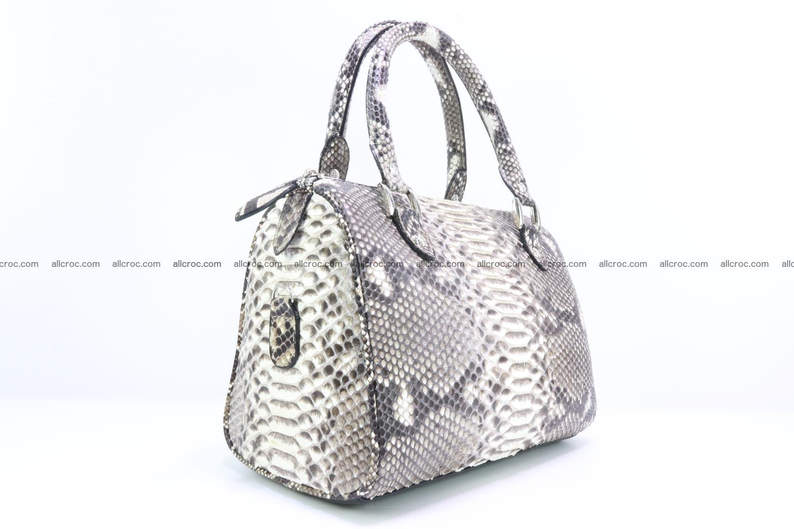 Ladies handbag, valise from genuine python skin MINI 210 Foto 2