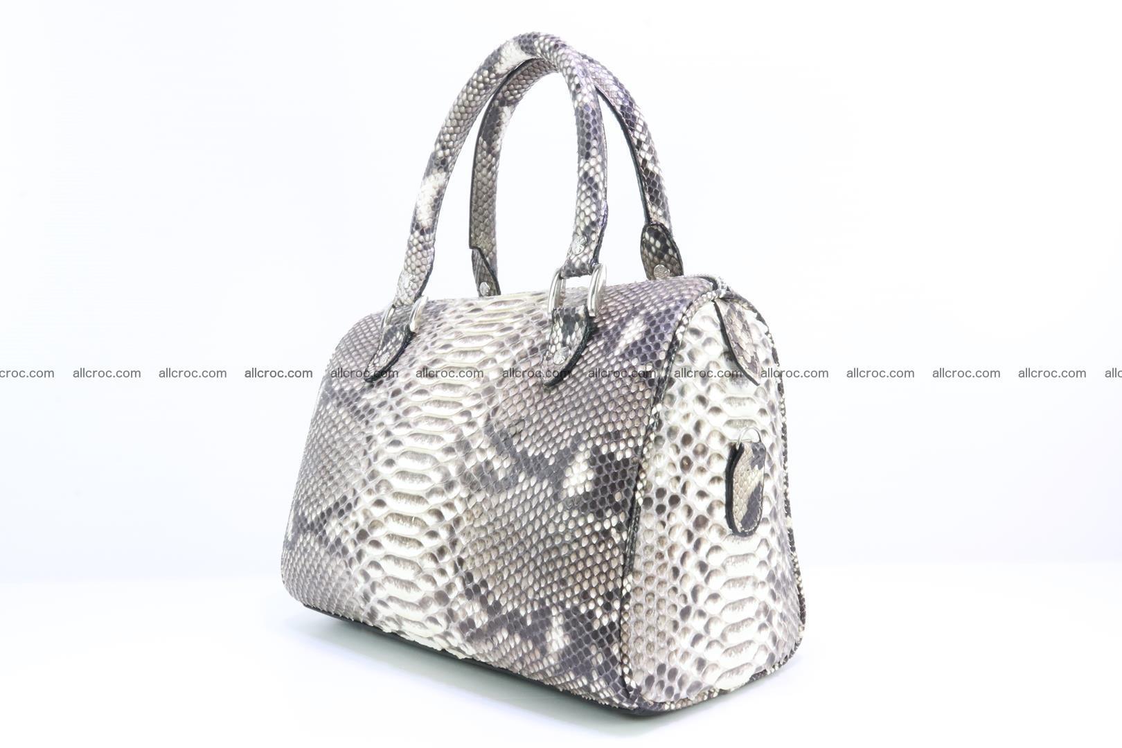 Ladies handbag, valise from genuine python skin MINI 210 Foto 3