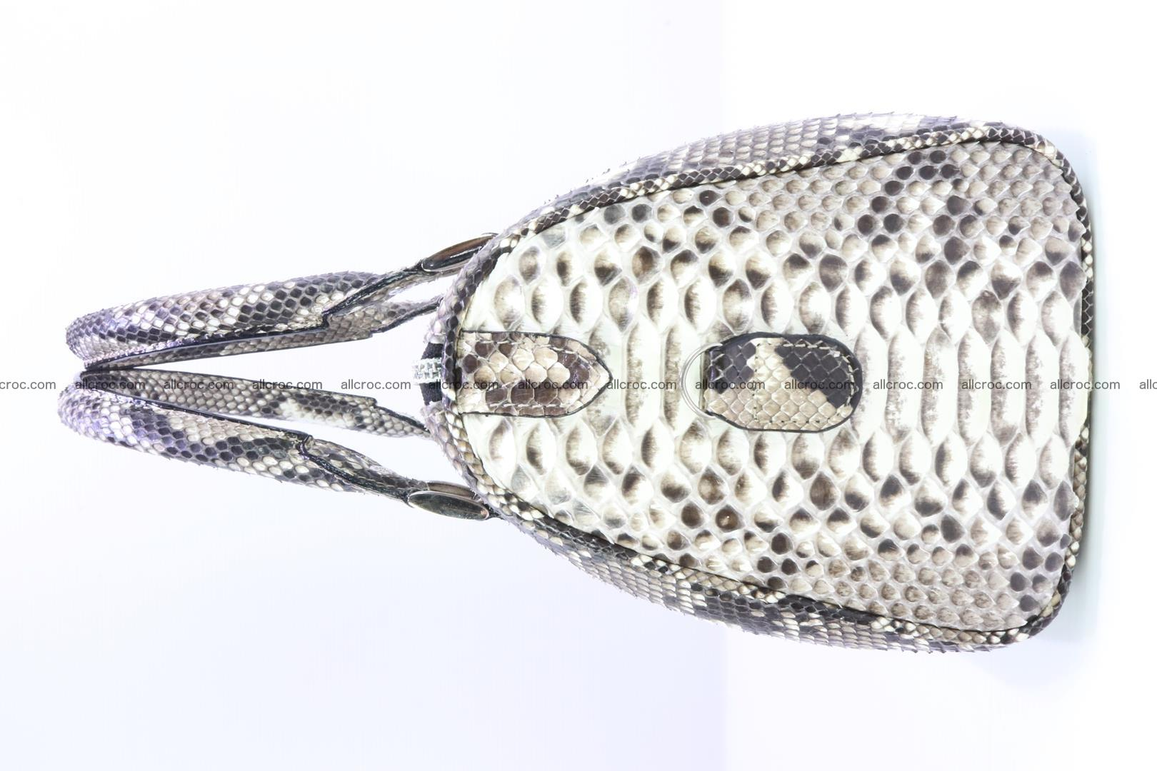 Ladies handbag, valise from genuine python skin MINI 210 Foto 4