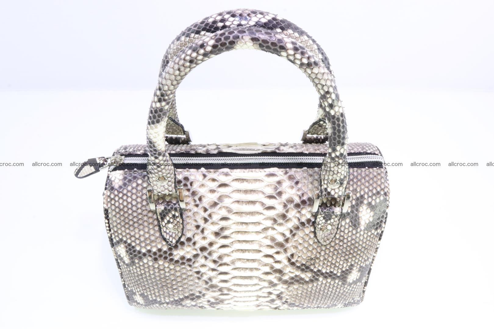 Ladies handbag, valise from genuine python skin MINI 210 Foto 5