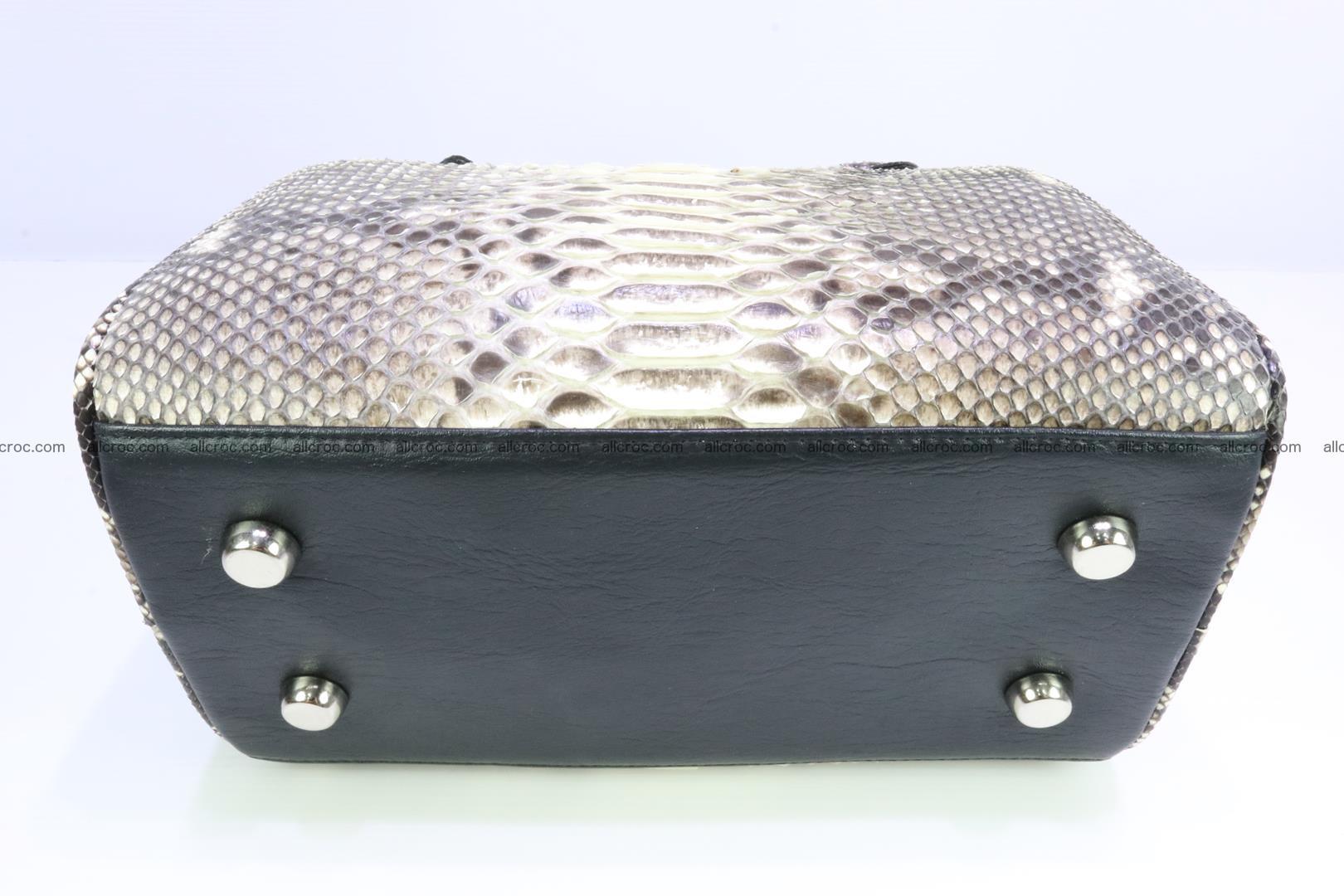 Ladies handbag, valise from genuine python skin MINI 210 Foto 8