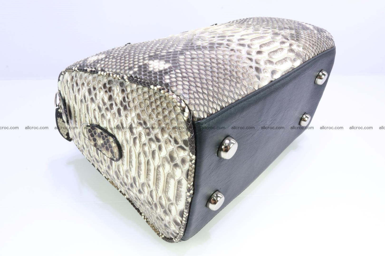 Ladies handbag, valise from genuine python skin MINI 210 Foto 9