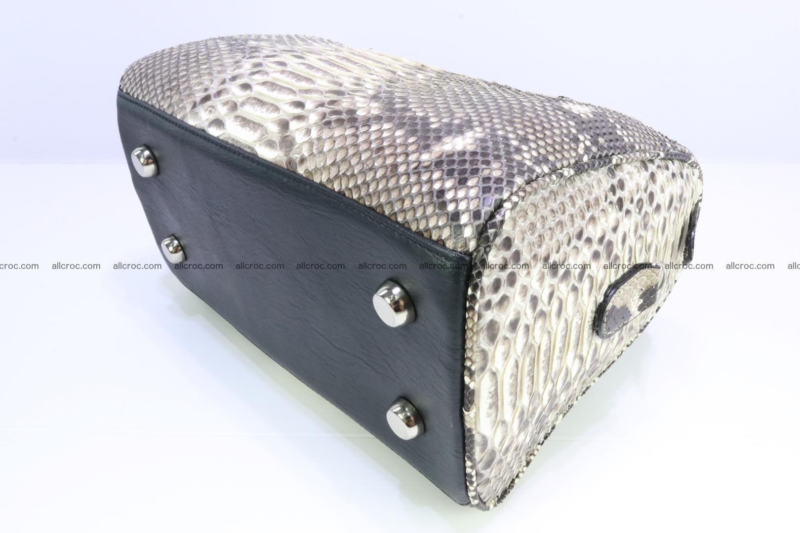 Ladies handbag, valise from genuine python skin MINI 210 Foto 10