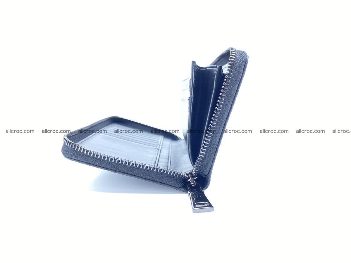 Lizard skin wallet with zip 883 Foto 8