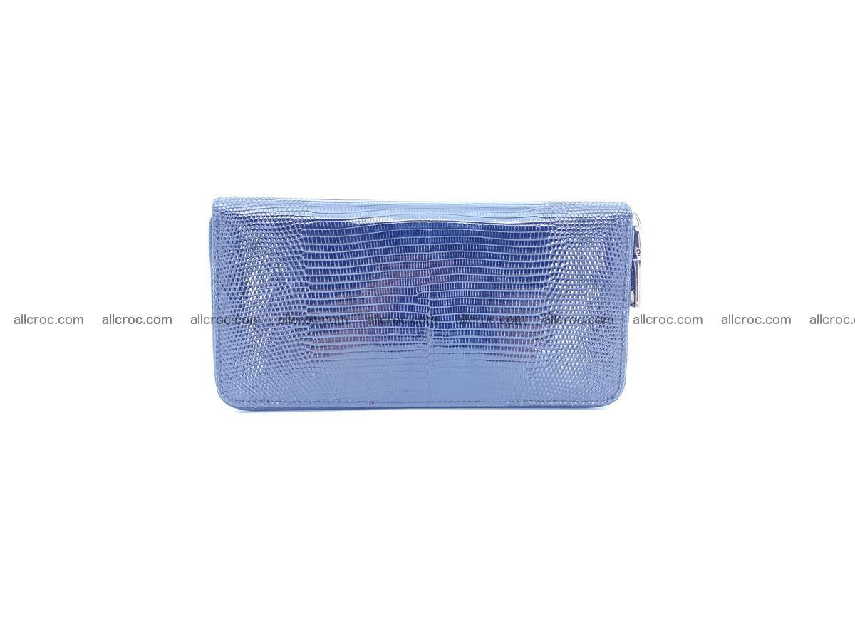 Lizard skin wallet with zip 883 Foto 3