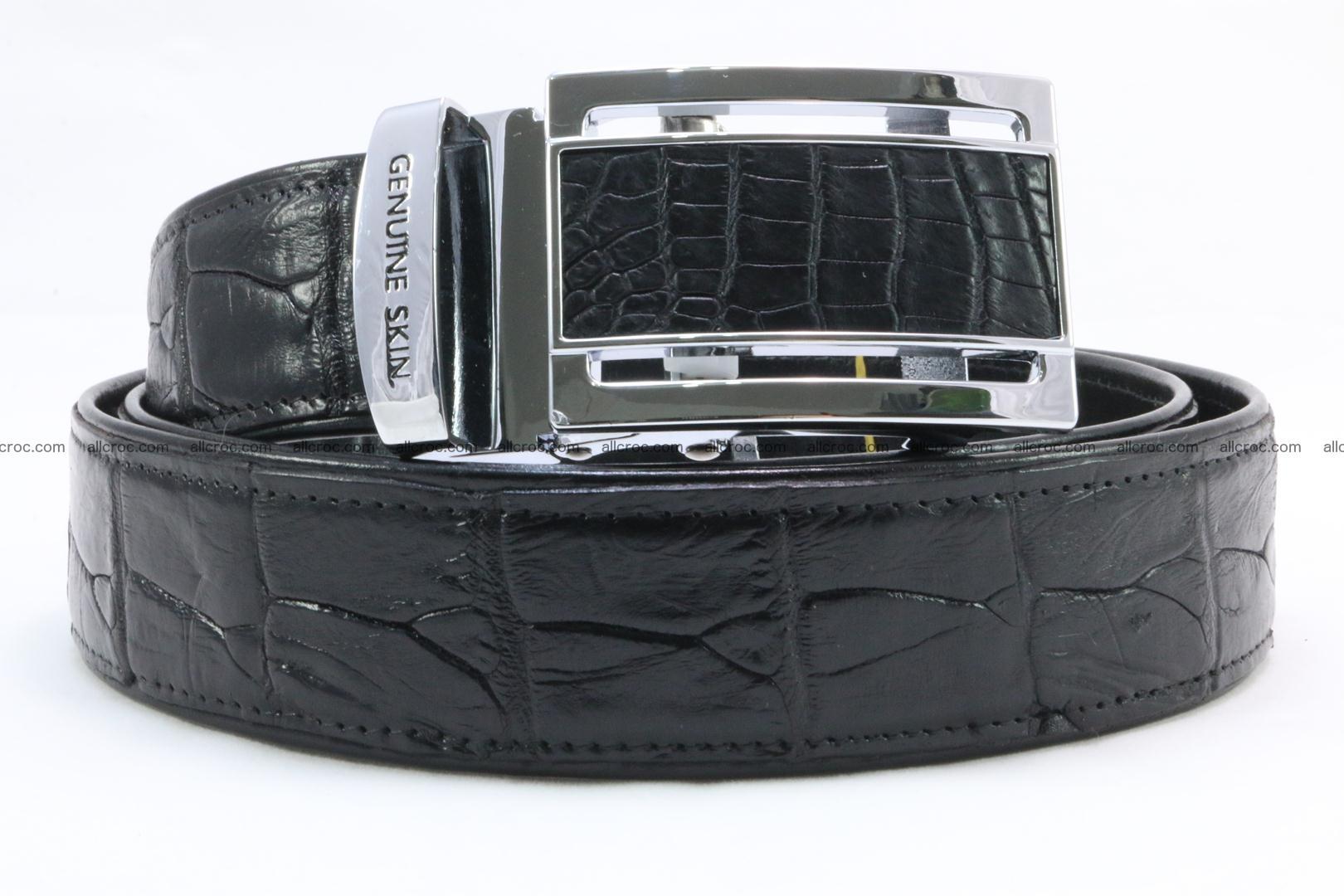 Crocodile leather belt 026 Foto 0
