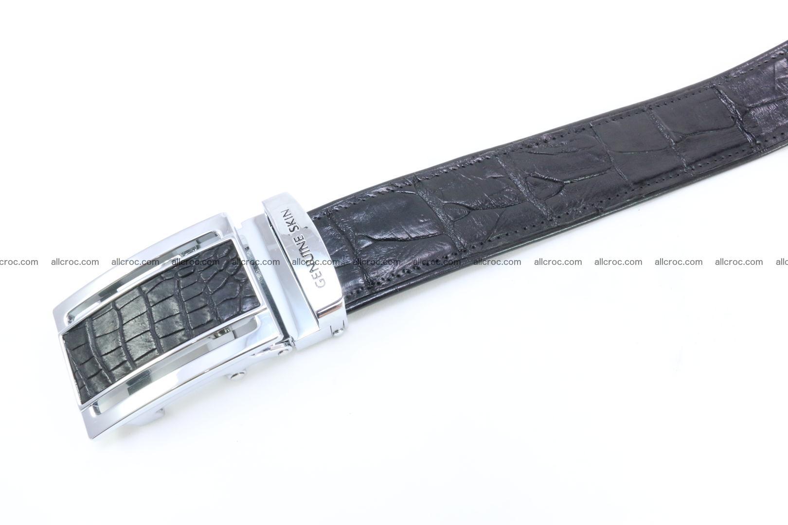 Crocodile leather belt 026 Foto 3