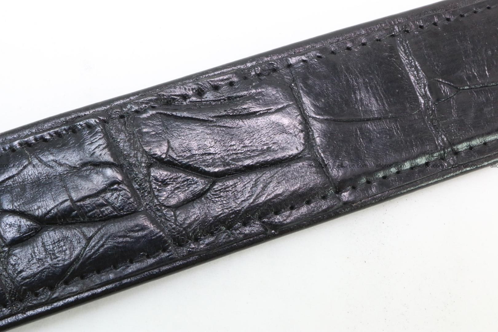 Crocodile leather belt 026 Foto 5