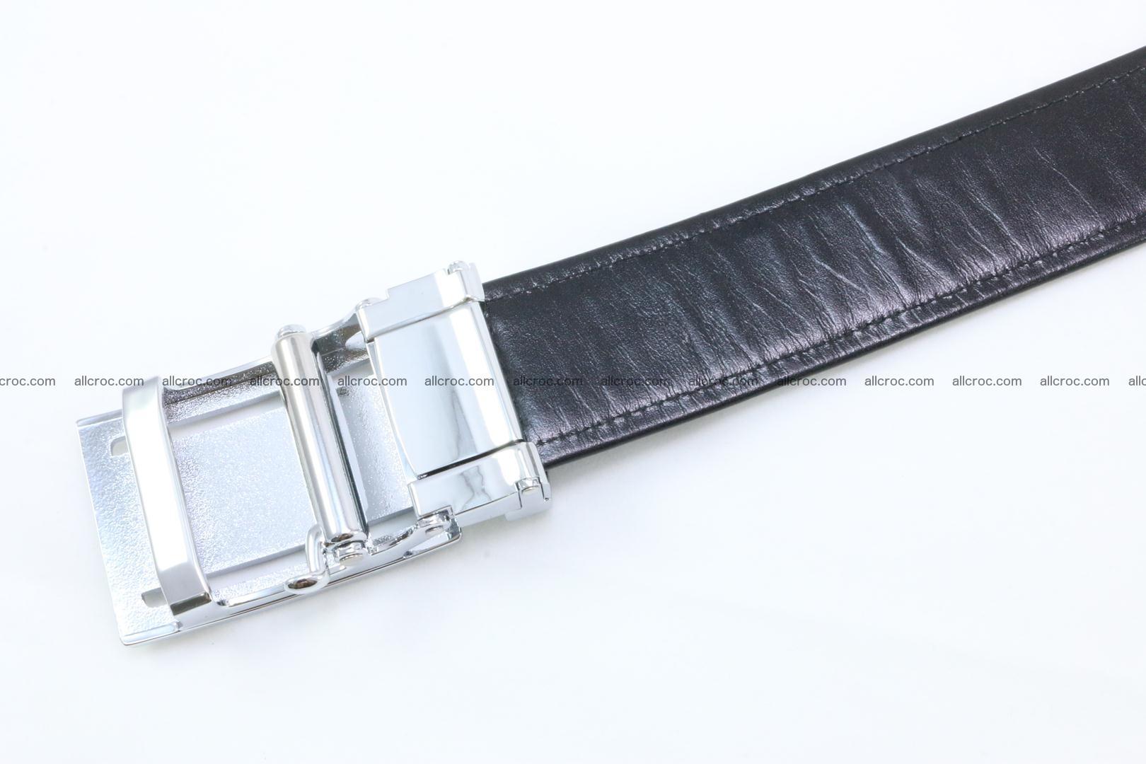 Crocodile leather belt 026 Foto 4