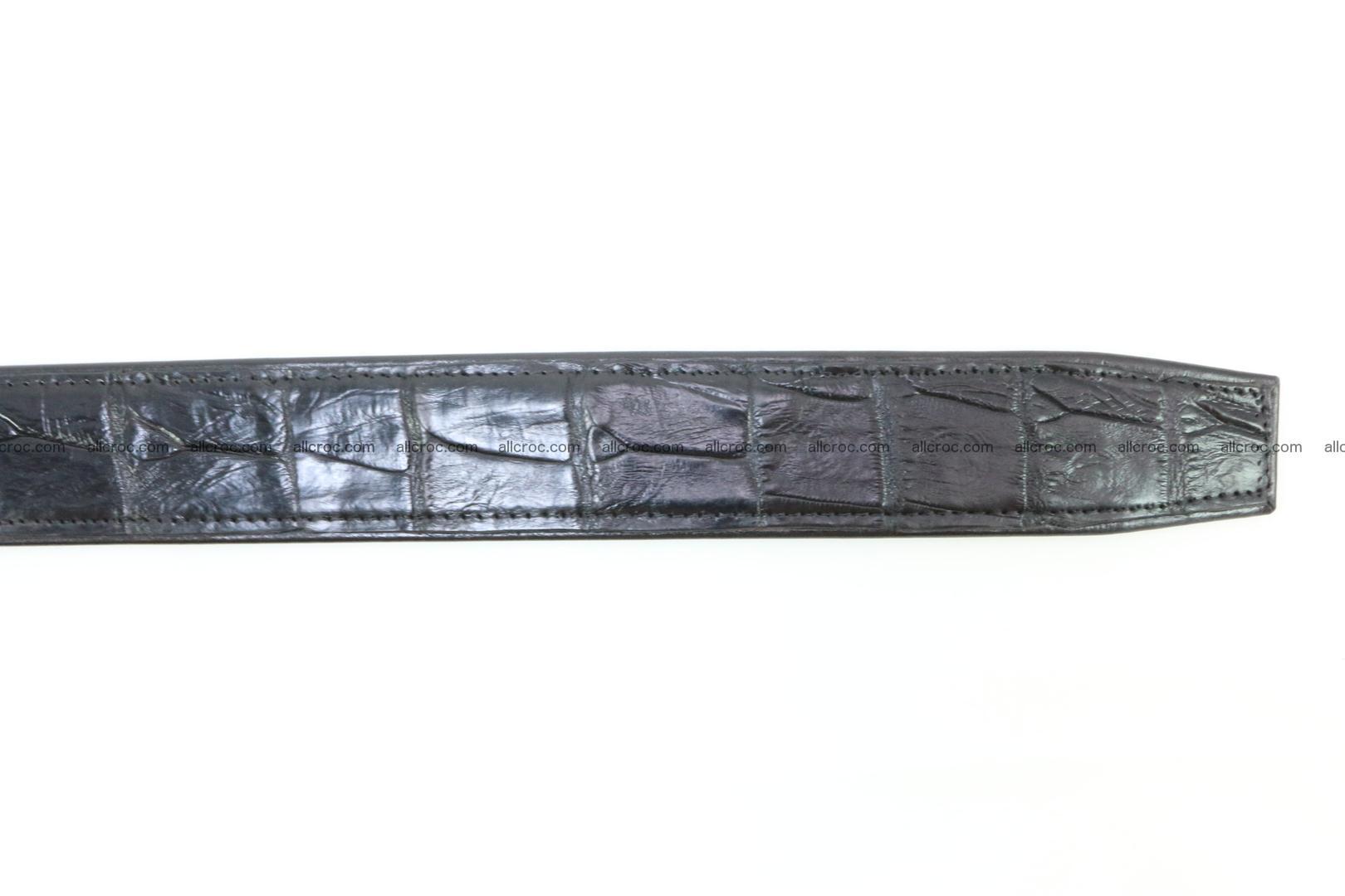 Crocodile leather belt 026 Foto 7