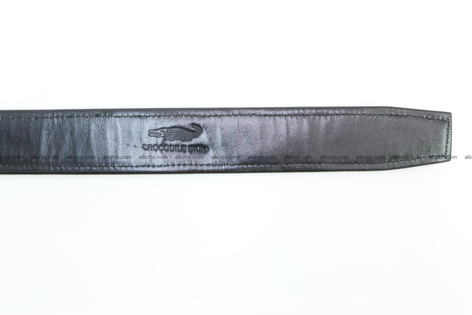 Crocodile leather belt 026 Foto 8