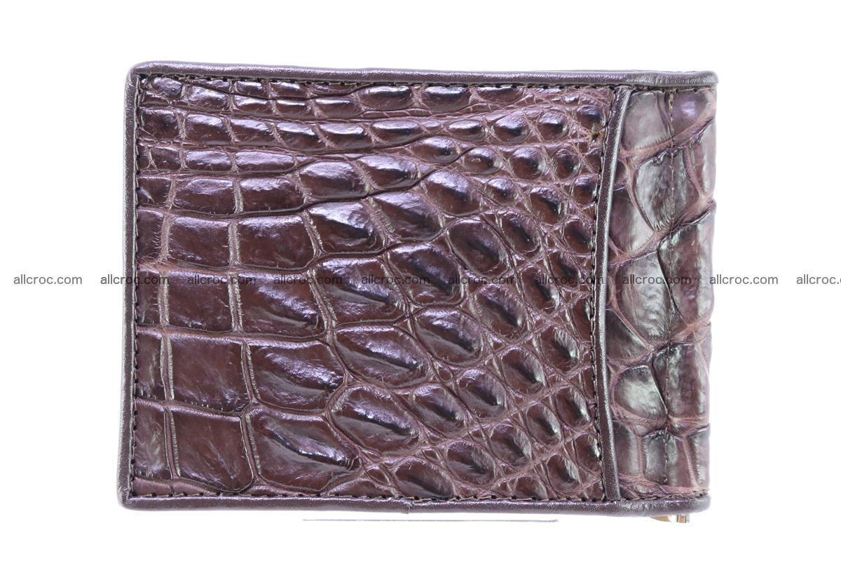 Crocodile skin moneyclip 239 Foto 1