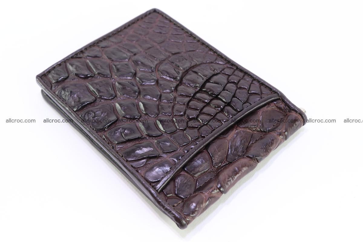 Crocodile skin moneyclip 239 Foto 4