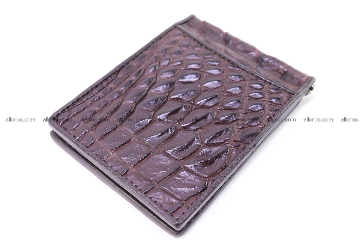 Crocodile skin moneyclip 239 Foto 5