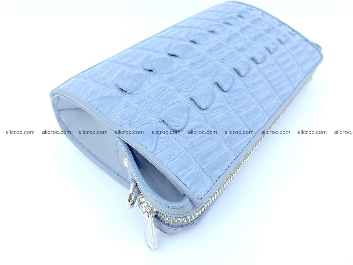 Purse for women from crocodile leather 546 Foto 5