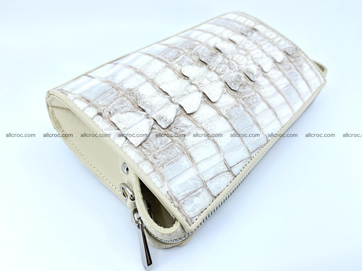 Purse for women from crocodile leather 549 Foto 5