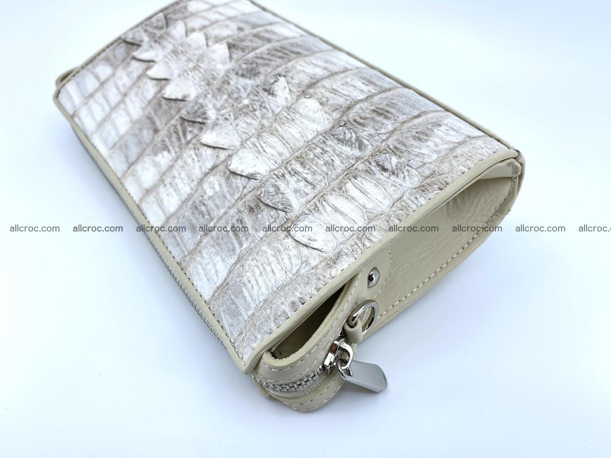 Purse for women from crocodile leather 549 Foto 7