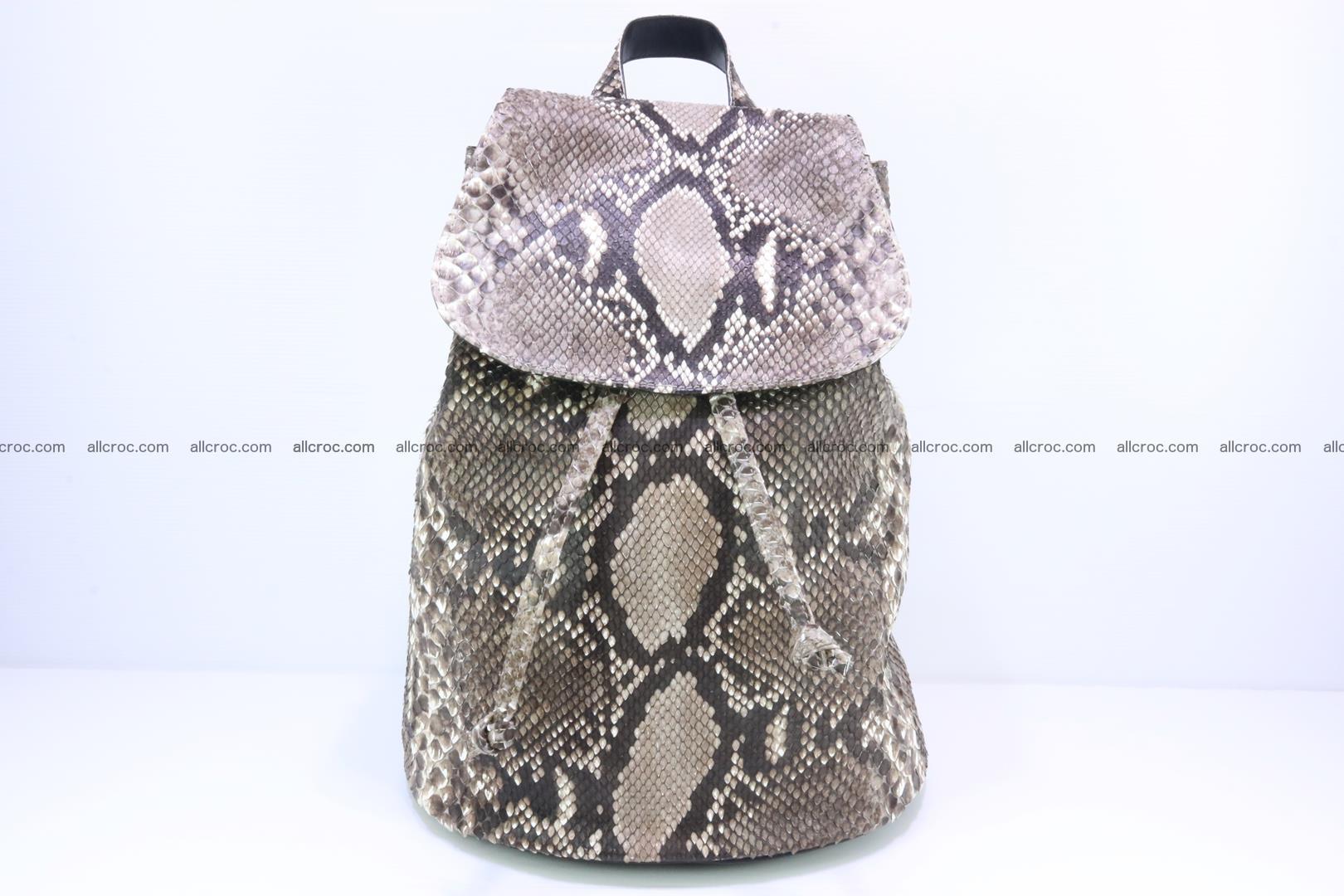 Python skin backpack 185 Foto 0