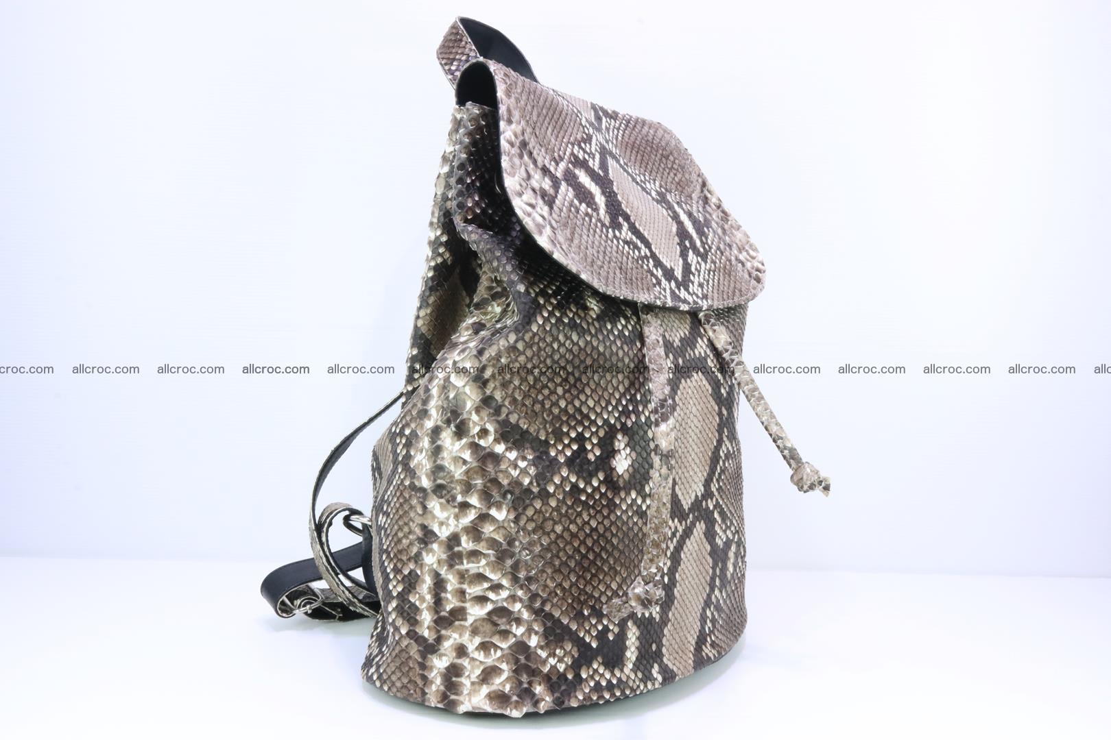 Python skin backpack 185 Foto 1