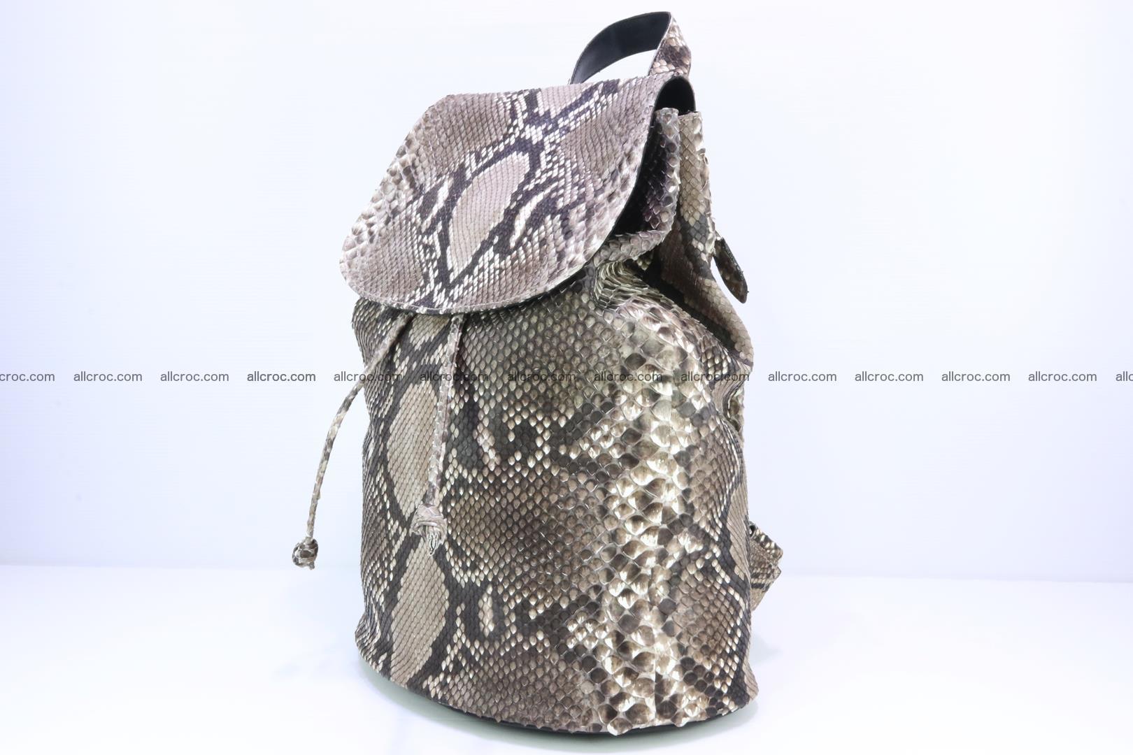 Python skin backpack 185 Foto 2