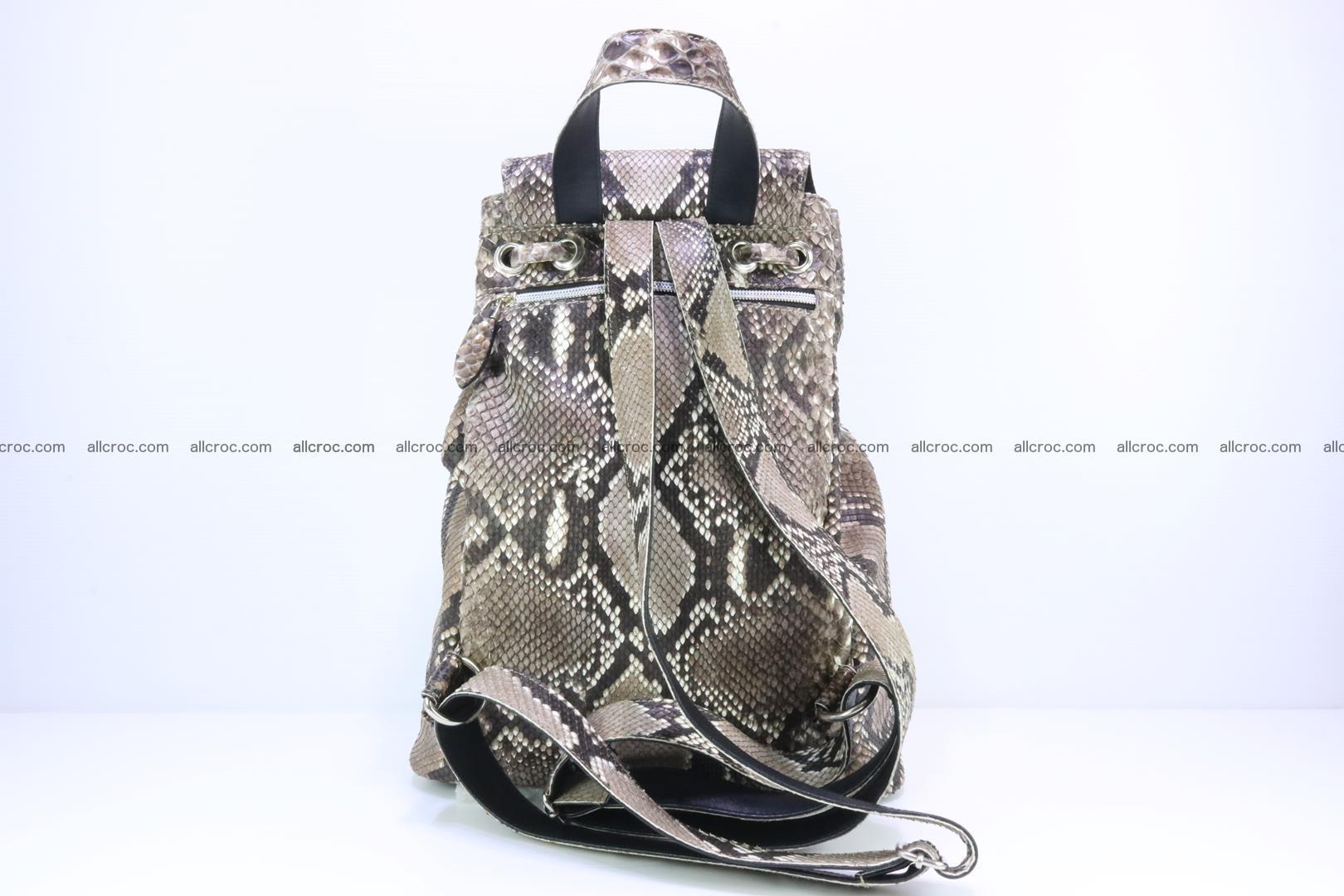 Python skin backpack 185 Foto 3