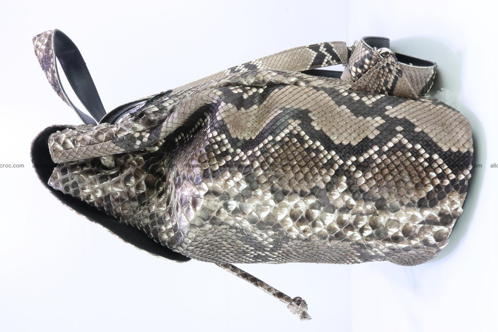 Python skin backpack 185 Foto 4