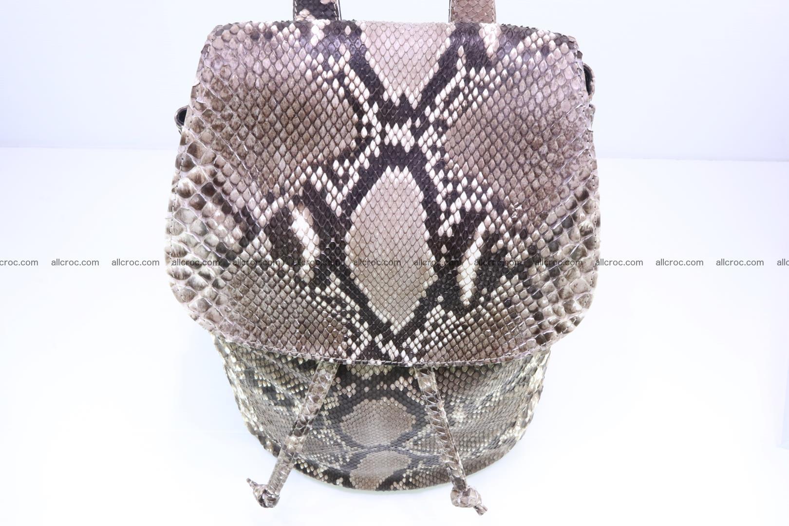 Python skin backpack 185 Foto 5