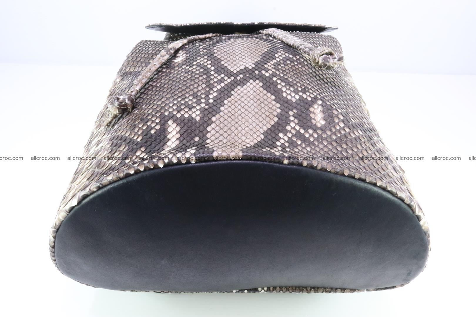 Python skin backpack 185 Foto 6