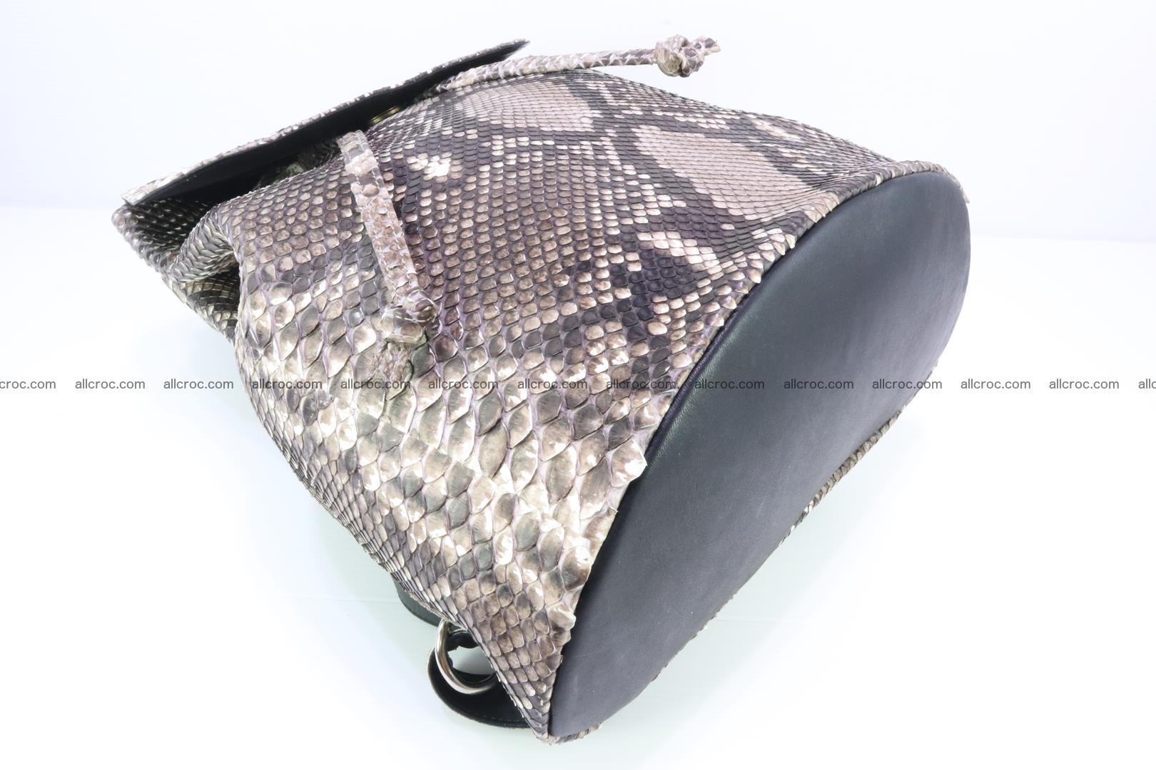 Python skin backpack 185 Foto 7