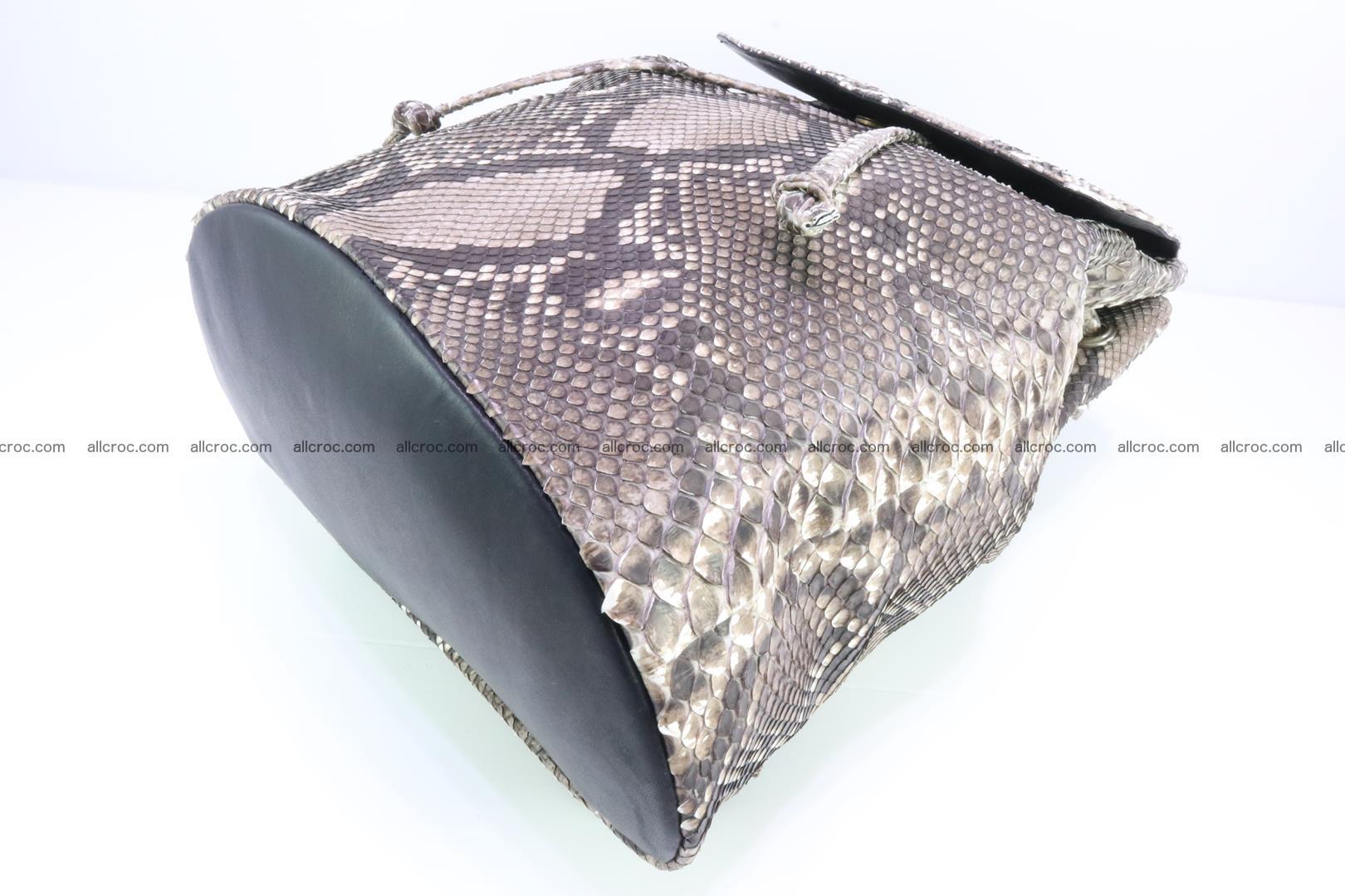 Python skin backpack 185 Foto 9